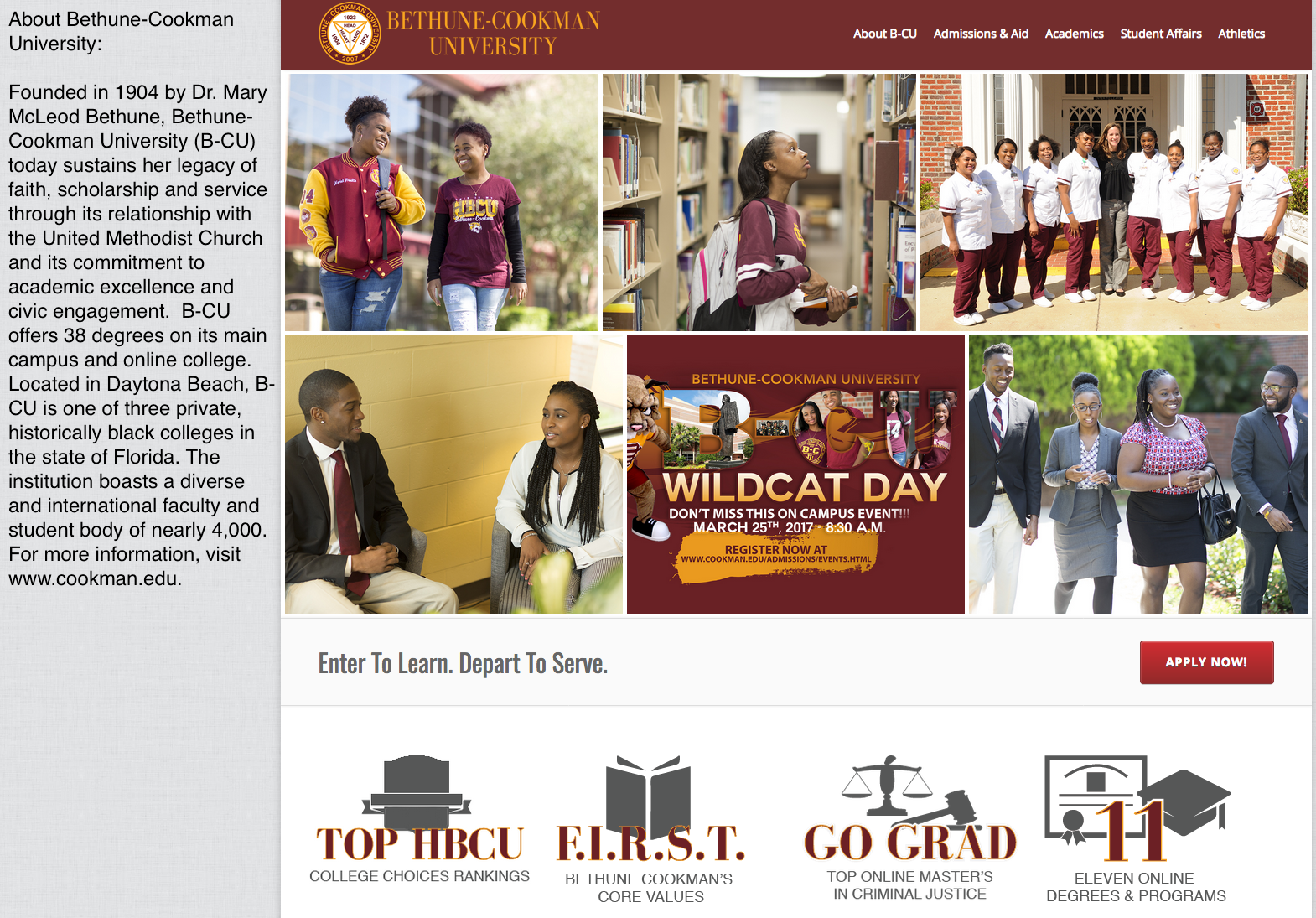 About Bethune-Cookman University
