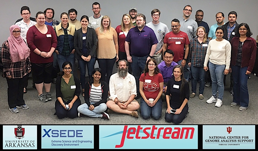Jetstream at Univ of Ark