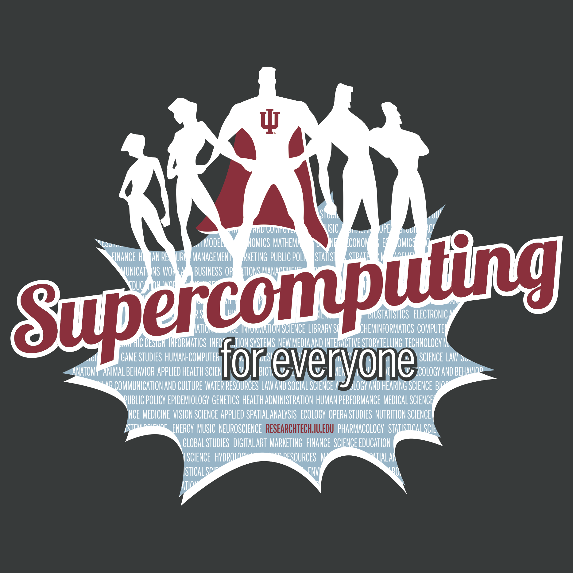 Supercomputing for Everyone superheroes
